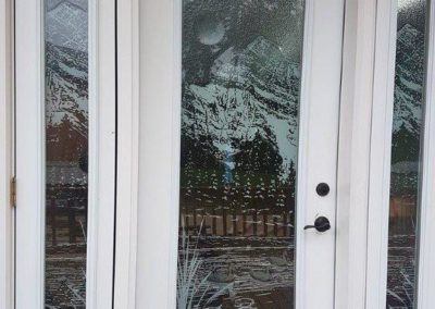 Charleswood Custom Glass Door 1