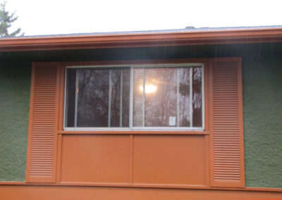 Front Window Before
